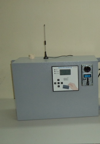 Coin And Card Operated Water Atm With Gsm