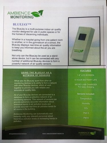 Indoor Air Quality Monitor (Bluejay)