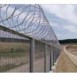 Razor Blade Security Fencing Wire