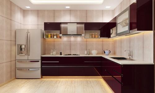 Classy Cristal Modular Kitchen