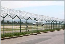 Concertina Coil Security Fence