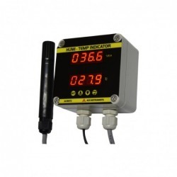 Cold Storage Temperature And Humidity Monitor