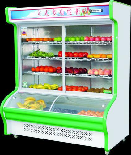 Double Temperature Showcase Freezer