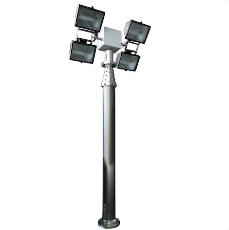 Telescopic Mast Light Tower