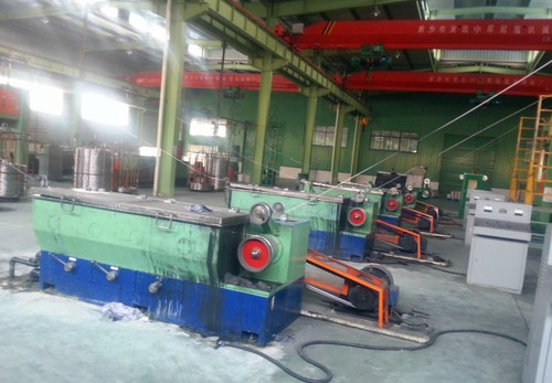 17 Dies High Speed Intermediate Wire Drawing Machines in   Jiangsu Province