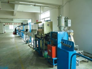 High Temperature Cable Extrusion Line