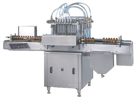 Quality Approved automatic Volumetric Liquid Filling Machine in  Gota