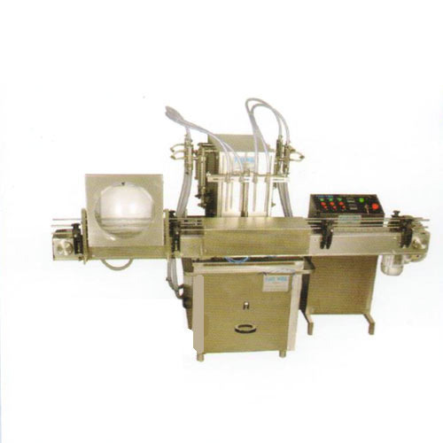 Quality Tested Pump Base Servo Plc Filling Machine in  Gota