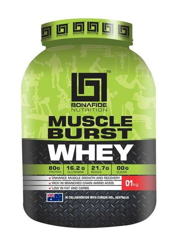 Muscle Burst Whey 80
