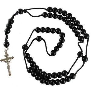 Rosary Thread 6mm Necklace