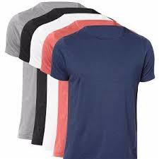 Pure Cotton Half Sleeves T-Shirts