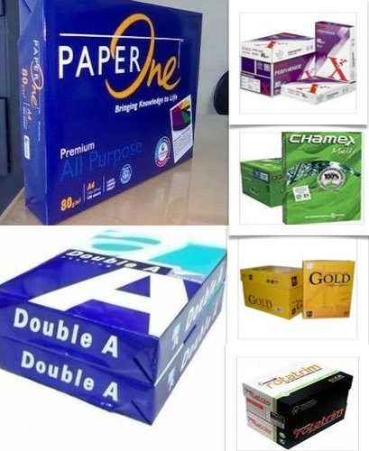 100% Wood Pulp Double A4 Papers