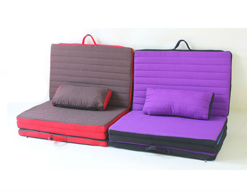 Cushion Folding Bed in  Matiala Village