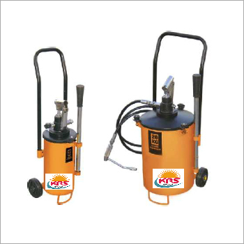 Hand Operated Mobile Grease Filling Line