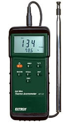 Heavy Duty Hot Wire Thermo Anemometer