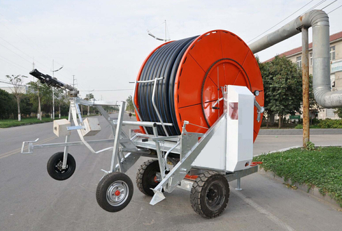 Jp75-400 Sprinkler Type Hose Reel Irrigation Machine