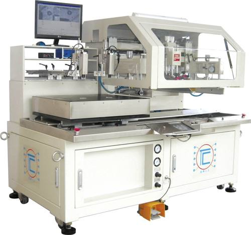 TC-5060LCD-SV Silk Screen Printer For LCD Display Glass