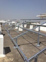 Solar Panel Prefab Structure