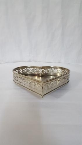 Heart Shape Brass Decorative Box