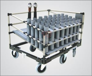 Industrial Pipe Joint Rack Systems