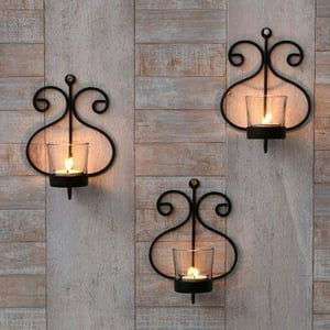 Wall Decorative Candle Holder