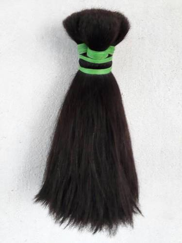 Double Drawn Black Human Hair