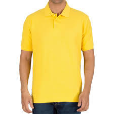 Mens Yellow T-Shirts