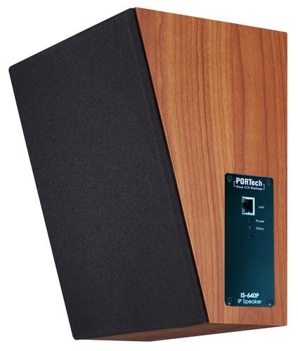 PORTech IS-640P IP POE Wood Speaker