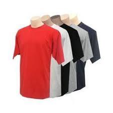 Pure Cotton Round Neck T-Shirts