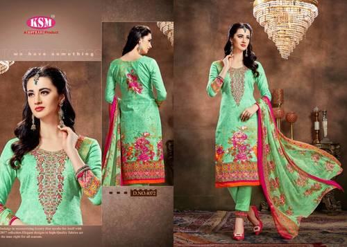 Cambric Cotton Salwar Kameez