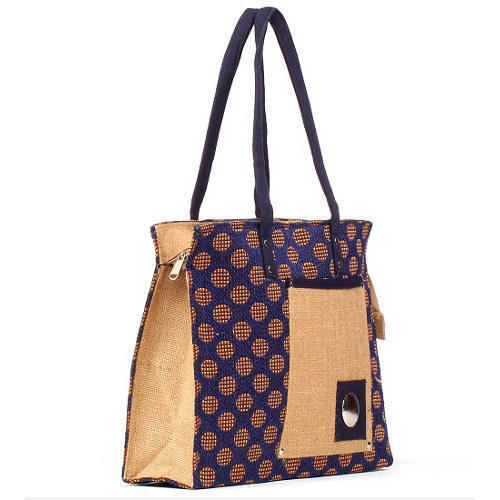 Jute Printed Bag in  Chamelian Road