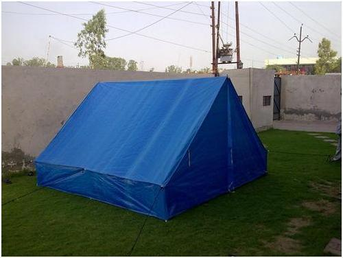 Rain Coated Tarp Tent