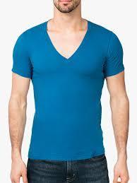 Mens V Neck T-Shirts in    A. N. Mangalam Valapadi Tk