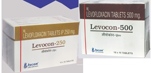 Levofloxacin 250/500mg Tablets