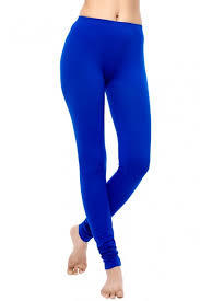 Blue Colour Leggings