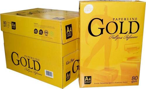 Paperline Gold A4 Paper 80GSM