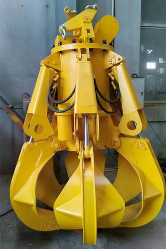 Easy To Operate Electro-Hydraulic Orange Peel Grab