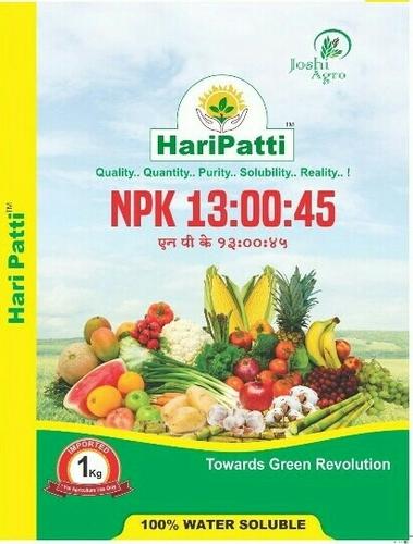 NPK 13-00-45 Fertilizers