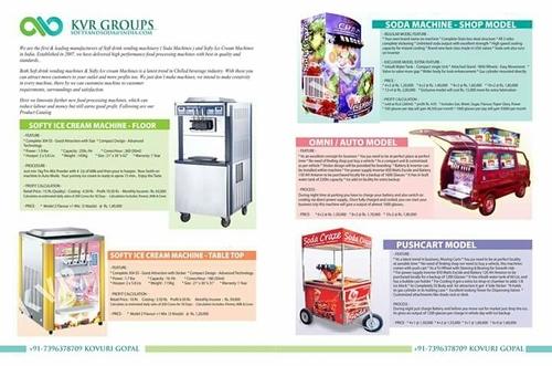 Cone Ice Cream Machines Floor Model