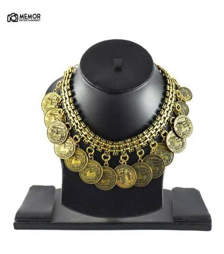 Coined Haaram Necklace