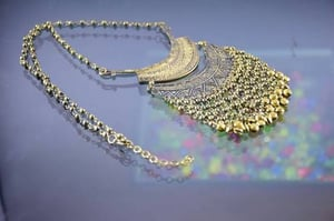 Long Coined Necklace