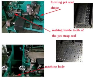 Pet Strapping Seal Machine