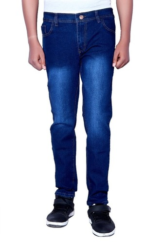 Blue Color Boy Mens Jeans