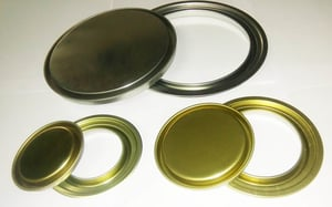 Tin Container Lid