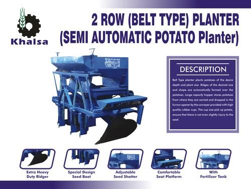 Latest Semi Automatic Potato Planter