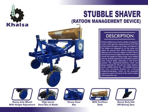Sugarcane Stubble Shaver