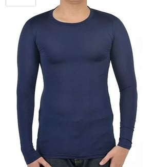 Mens Compressions Full Sleeves Polyester T Shirt