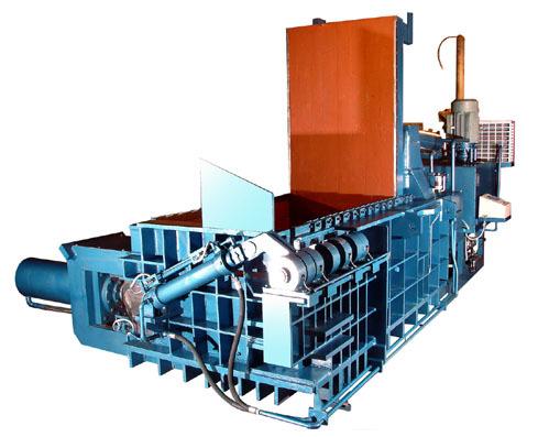 Hydraulic Scrap Baling Press Horizontal
