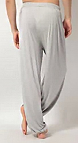Grey Unisex Bloomer Yoga Pants