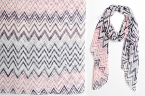 Branded Womens High Quality Polyester Printed Scarves